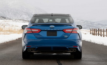 2020 Toyota Camry XSE AWD Rear Wallpapers 450x275 (42)