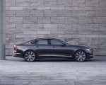 2020 Volvo S90 Recharge T8 plug-in hybrid (Color: Platinum Grey) Side Wallpapers 150x120 (7)