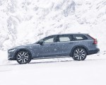 2020 Volvo V90 Cross Country Recharge T8 plug-in hybrid (Color: Thunder Grey) Side Wallpapers 150x120 (6)