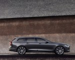 2020 Volvo V90 Recharge T8 plug-in hybrid (Color: Platinum Grey) Side Wallpapers 150x120 (3)