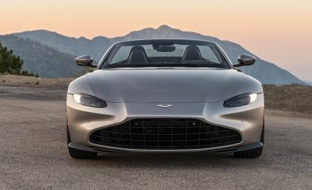 2021 Aston Martin Vantage Roadster (Color: Spirit Silver; US-Spec) Front Wallpapers 450x275 (112)