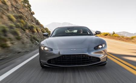 2021 Aston Martin Vantage Roadster (Color: Spirit Silver; US-Spec) Front Wallpapers 450x275 (76)
