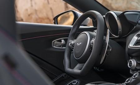2021 Aston Martin Vantage Roadster (Color: Spirit Silver; US-Spec) Interior Detail Wallpapers 450x275 (124)
