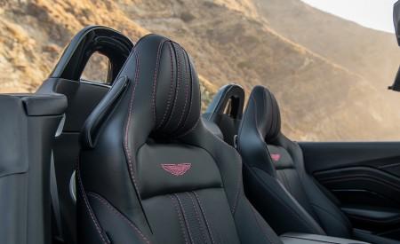 2021 Aston Martin Vantage Roadster (Color: Spirit Silver; US-Spec) Interior Seats Wallpapers 450x275 (125)