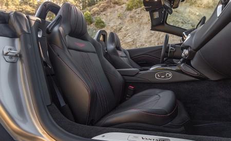 2021 Aston Martin Vantage Roadster (Color: Spirit Silver; US-Spec) Interior Seats Wallpapers 450x275 (127)