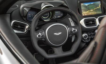 2021 Aston Martin Vantage Roadster (Color: Spirit Silver; US-Spec) Interior Steering Wheel Wallpapers 450x275 (128)