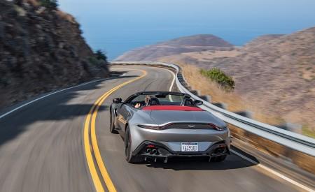 2021 Aston Martin Vantage Roadster (Color: Spirit Silver; US-Spec) Rear Wallpapers 450x275 (91)