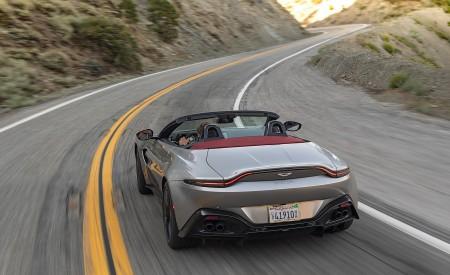 2021 Aston Martin Vantage Roadster (Color: Spirit Silver; US-Spec) Rear Wallpapers 450x275 (78)