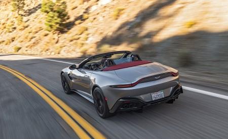 2021 Aston Martin Vantage Roadster (Color: Spirit Silver; US-Spec) Rear Wallpapers  450x275 (79)