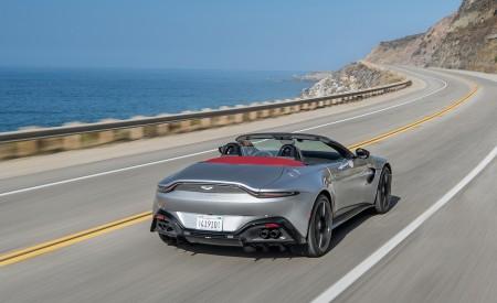 2021 Aston Martin Vantage Roadster (Color: Spirit Silver; US-Spec) Rear Wallpapers 450x275 (94)