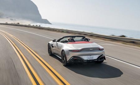 2021 Aston Martin Vantage Roadster (Color: Spirit Silver; US-Spec) Rear Wallpapers 450x275 (82)