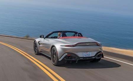 2021 Aston Martin Vantage Roadster (Color: Spirit Silver; US-Spec) Rear Wallpapers 450x275 (95)
