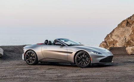2021 Aston Martin Vantage Roadster (Color: Spirit Silver; US-Spec) Side Wallpapers  450x275 (118)