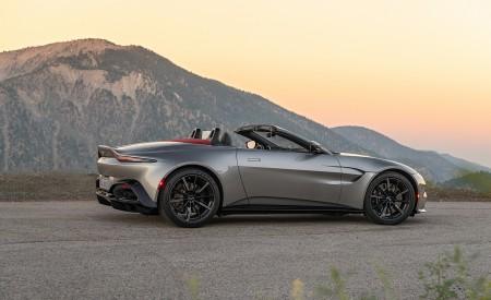 2021 Aston Martin Vantage Roadster (Color: Spirit Silver; US-Spec) Side Wallpapers 450x275 (119)