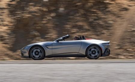 2021 Aston Martin Vantage Roadster (Color: Spirit Silver; US-Spec) Side Wallpapers 450x275 (104)