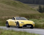 2021 Aston Martin Vantage Roadster (Color: Yellow Tang) Front Three-Quarter Wallpapers 150x120 (37)