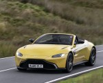 2021 Aston Martin Vantage Roadster (Color: Yellow Tang) Front Three-Quarter Wallpapers 150x120 (27)