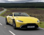 2021 Aston Martin Vantage Roadster (Color: Yellow Tang) Front Three-Quarter Wallpapers  150x120 (4)