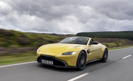 2021 Aston Martin Vantage Roadster Wallpapers & HD Images