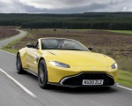 2021 Aston Martin Vantage Roadster (Color: Yellow Tang) Front Three-Quarter Wallpapers  150x120 (5)