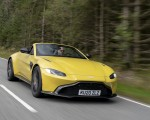 2021 Aston Martin Vantage Roadster (Color: Yellow Tang) Front Three-Quarter Wallpapers 150x120 (6)