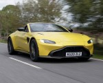 2021 Aston Martin Vantage Roadster (Color: Yellow Tang) Front Three-Quarter Wallpapers 150x120 (7)