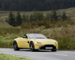 2021 Aston Martin Vantage Roadster (Color: Yellow Tang) Front Three-Quarter Wallpapers 150x120 (38)