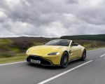 2021 Aston Martin Vantage Roadster (Color: Yellow Tang) Front Three-Quarter Wallpapers 150x120 (2)