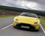 2021 Aston Martin Vantage Roadster (Color: Yellow Tang) Front Wallpapers  150x120 (11)