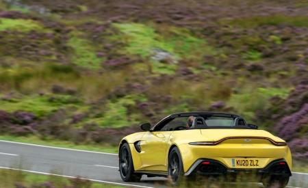 2021 Aston Martin Vantage Roadster (Color: Yellow Tang) Rear Three-Quarter Wallpapers 450x275 (39)