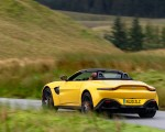 2021 Aston Martin Vantage Roadster (Color: Yellow Tang) Rear Three-Quarter Wallpapers 150x120 (15)