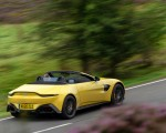2021 Aston Martin Vantage Roadster (Color: Yellow Tang) Rear Three-Quarter Wallpapers 150x120 (40)