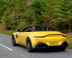 2021 Aston Martin Vantage Roadster (Color: Yellow Tang) Rear Three-Quarter Wallpapers 150x120 (32)