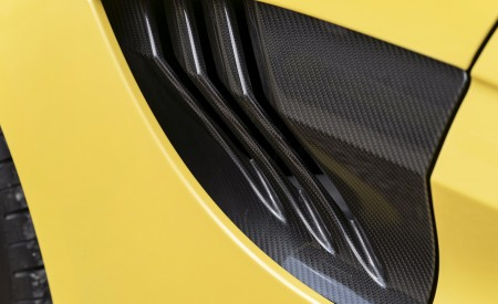 2021 Aston Martin Vantage Roadster (Color: Yellow Tang) Side Vent Wallpapers 450x275 (58)