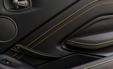 2021 Aston Martin Vantage Roadster (Color: Yellow Tang; US-Spec) Interior Detail Wallpapers 450x275 (155)