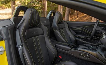 2021 Aston Martin Vantage Roadster (Color: Yellow Tang; US-Spec) Interior Seats Wallpapers 450x275 (154)
