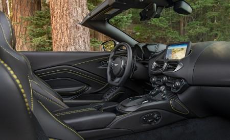 2021 Aston Martin Vantage Roadster (Color: Yellow Tang; US-Spec) Interior Wallpapers 450x275 (159)