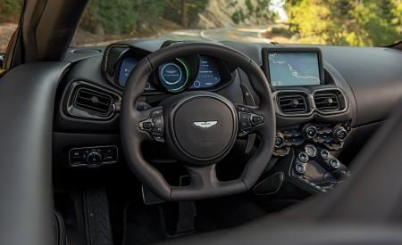 2021 Aston Martin Vantage Roadster (Color: Yellow Tang; US-Spec) Interior Wallpapers 450x275 (158)
