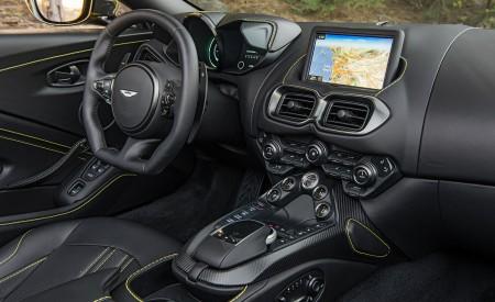 2021 Aston Martin Vantage Roadster (Color: Yellow Tang; US-Spec) Interior Wallpapers 450x275 (157)