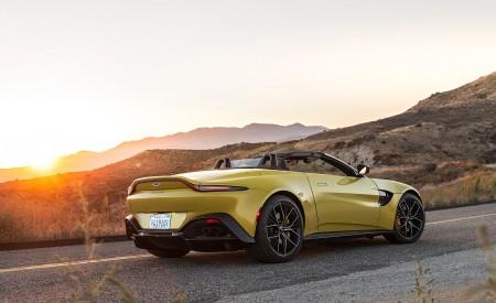 2021 Aston Martin Vantage Roadster (Color: Yellow Tang; US-Spec) Rear Three-Quarter Wallpapers 450x275 (135)