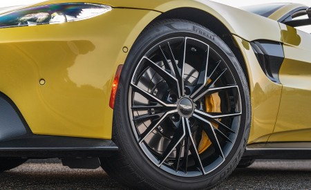 2021 Aston Martin Vantage Roadster (Color: Yellow Tang; US-Spec) Wheel Wallpapers 450x275 (150)
