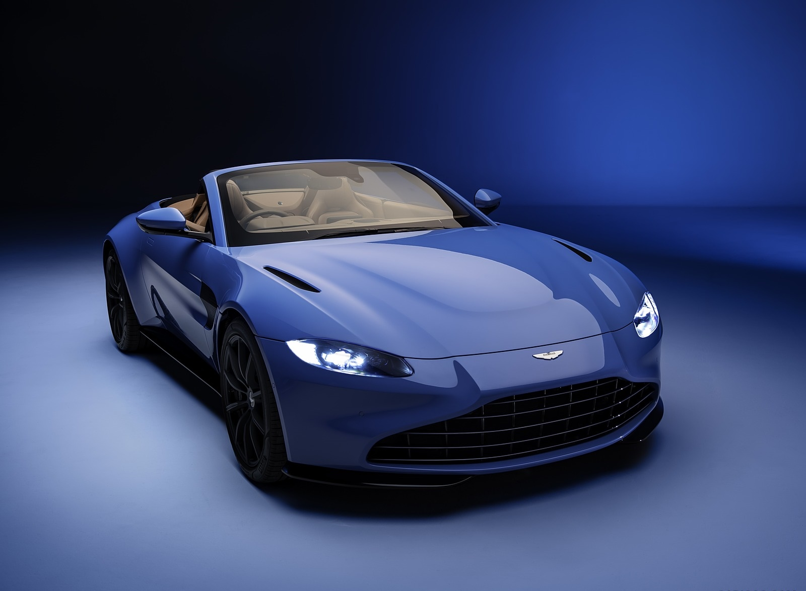 2021 Aston Martin Vantage Roadster Front Three-Quarter Wallpapers (1)