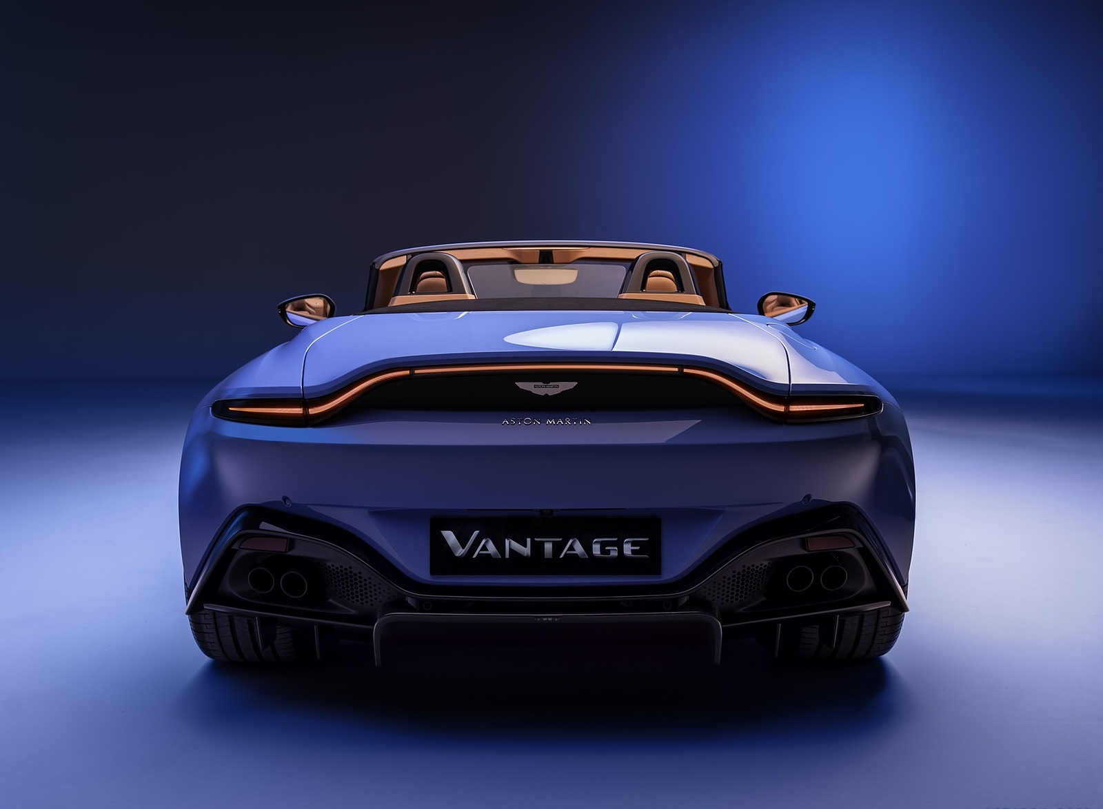 2021 Aston Martin Vantage Roadster Rear Wallpapers (4)