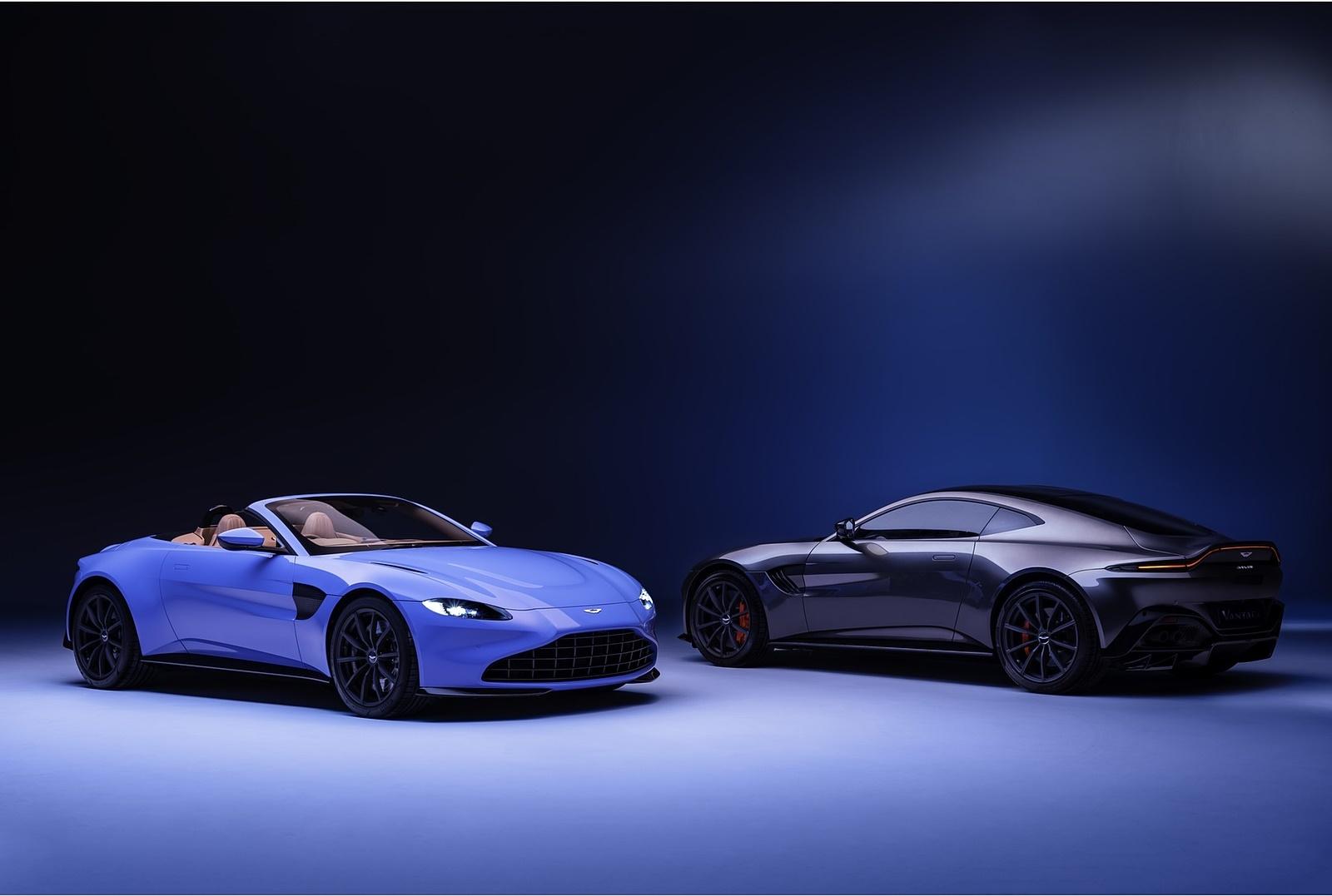 2021 Aston Martin Vantage Roadster Wallpapers (8)