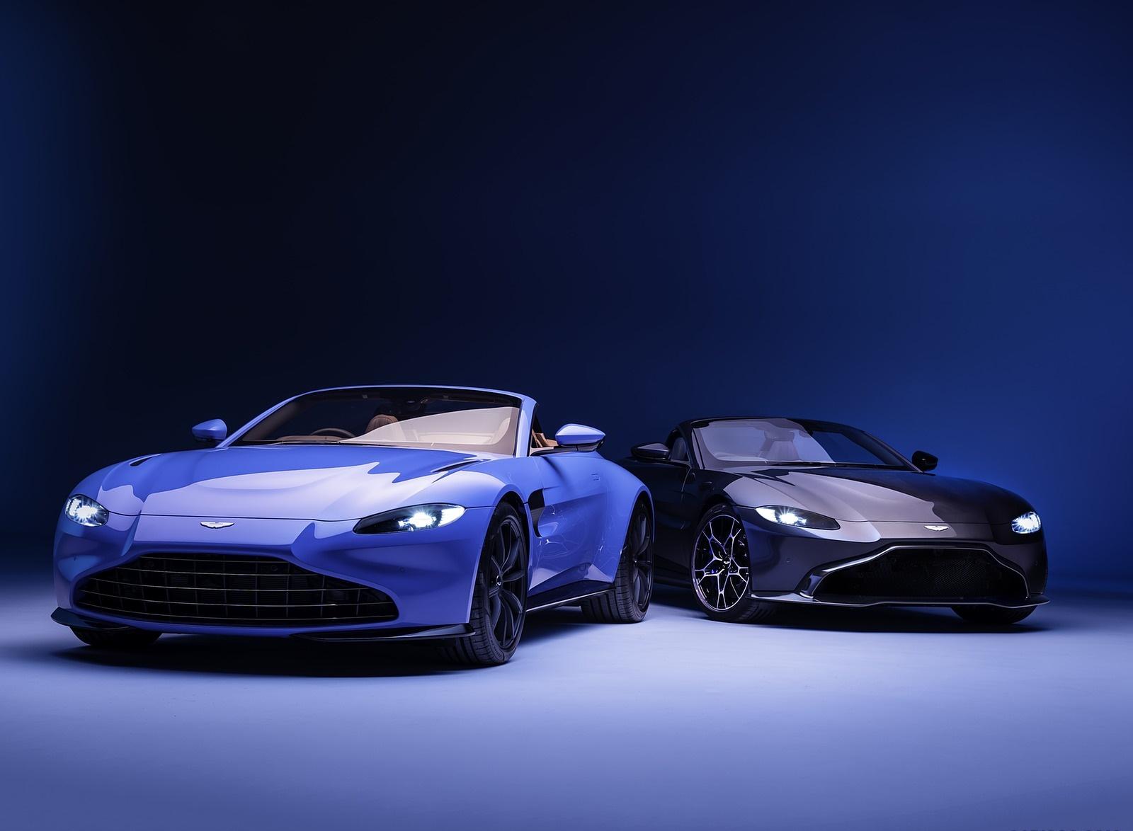 2021 Aston Martin Vantage Roadster Wallpapers (7)