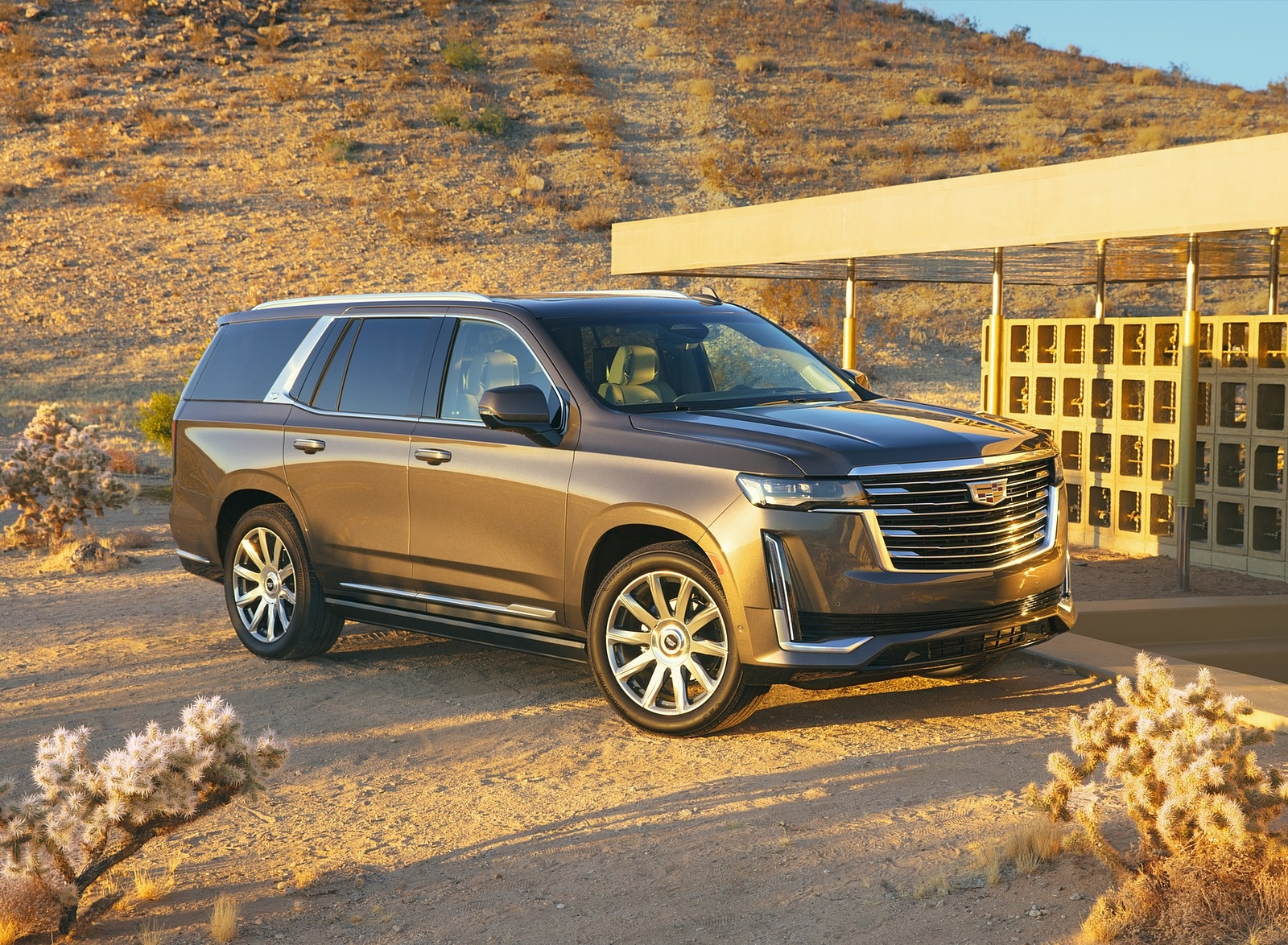 2021 Cadillac Escalade Front Three-Quarter Wallpapers (8)