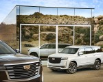 2021 Cadillac Escalade Front Three-Quarter Wallpapers 150x120 (5)