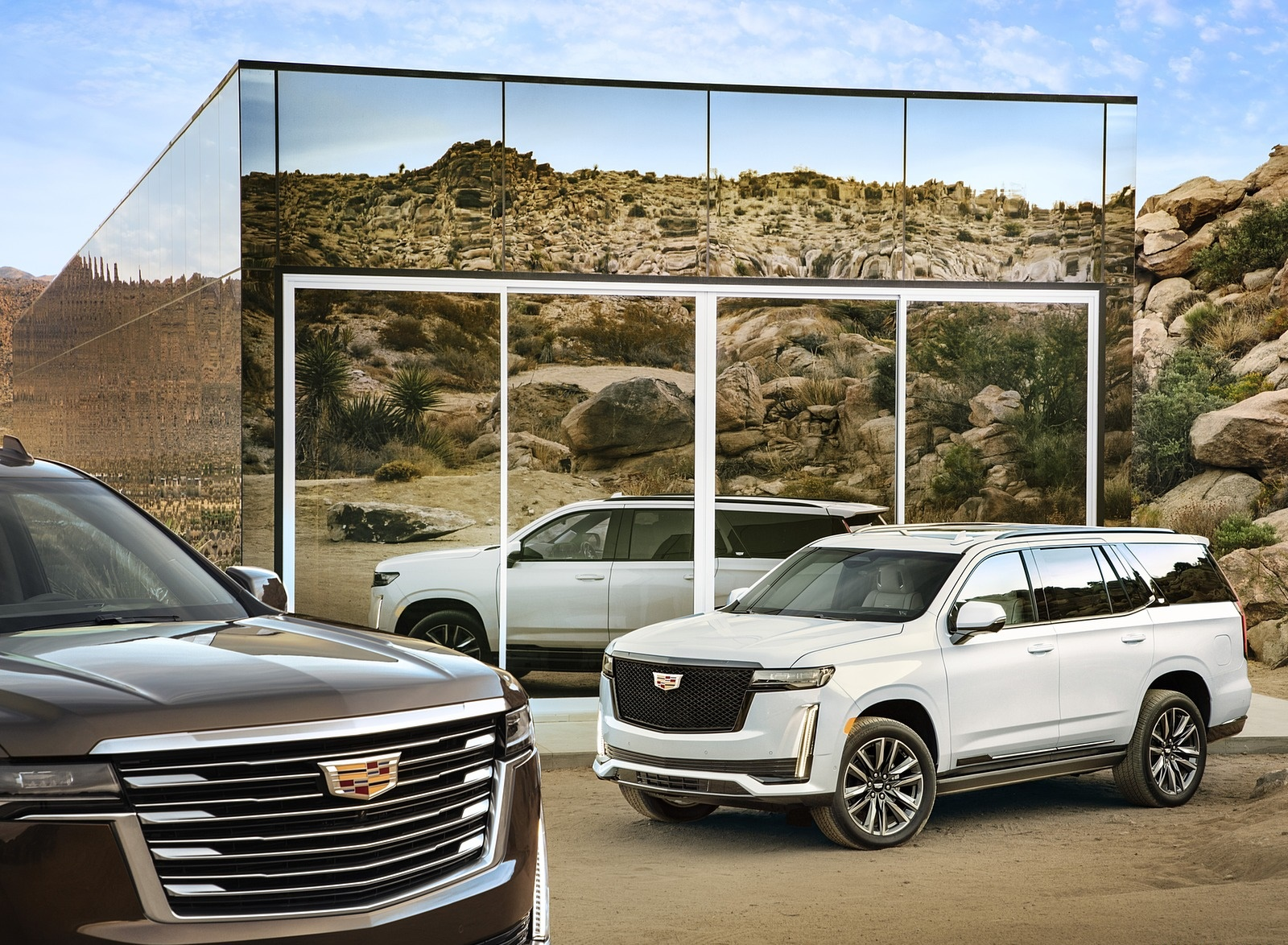 2021 Cadillac Escalade Front Three-Quarter Wallpapers (5)