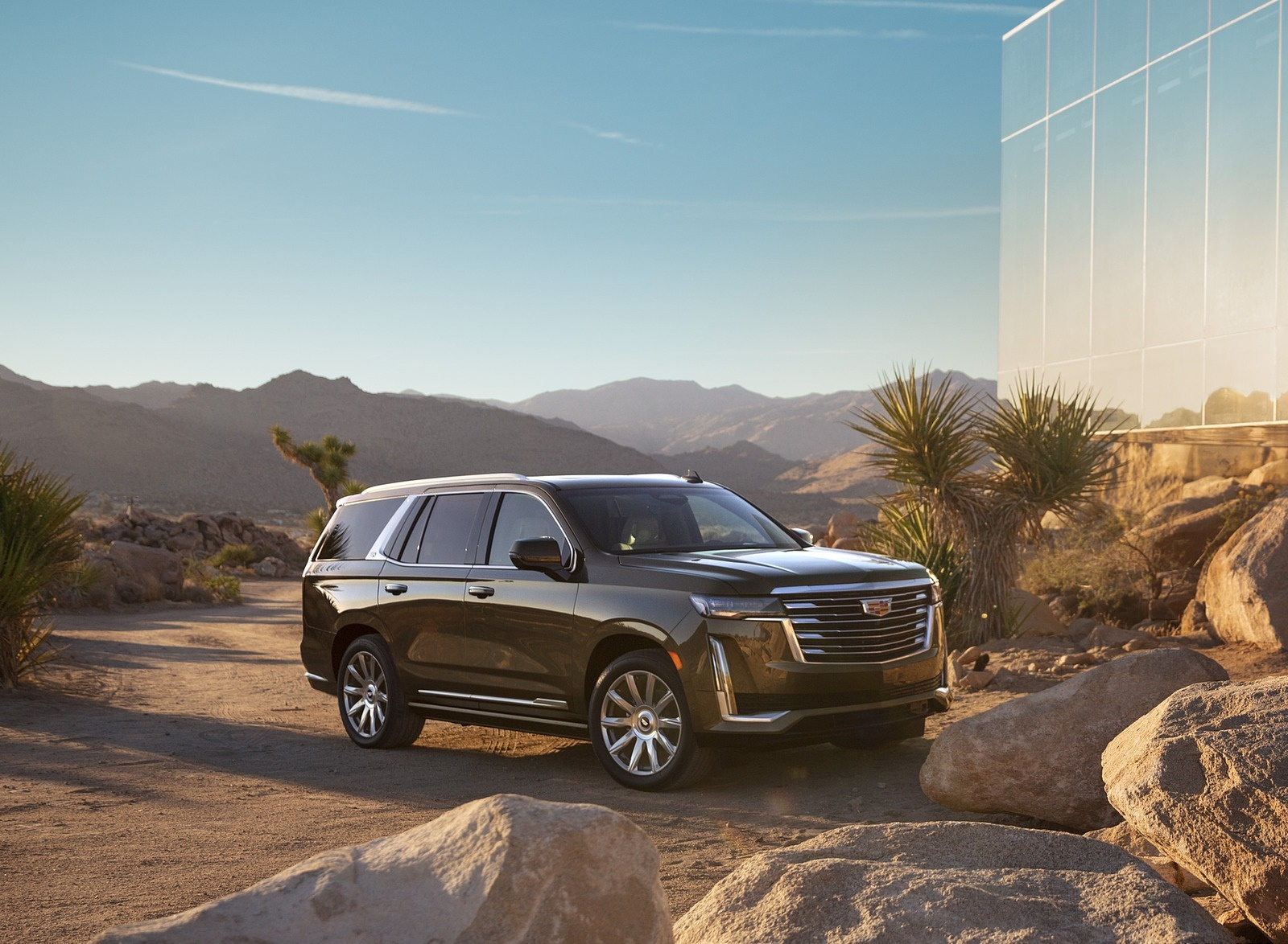 2021 Cadillac Escalade Front Three-Quarter Wallpapers (9)