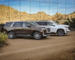2021 Cadillac Escalade Front Three-Quarter Wallpapers 150x120 (3)